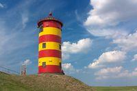 Leuchtturm Pilsum bei Greetsiel in Ostfriesland