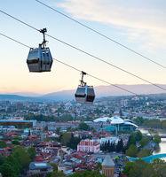 Tbilisi modern funicular, Georgia