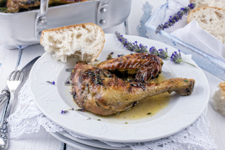 french lavender chicken