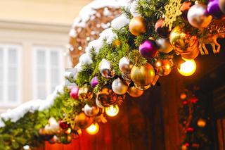 Lichterkette zu Weihnachten