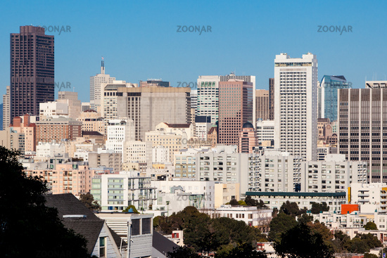 San Francisco Downtown Area