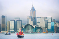 Hong Kong Downtown skyline