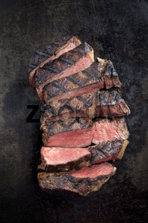 Barbecue Dry Aged Entrecote Steak