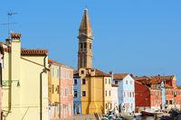Glimpse of Burano Island, Venice