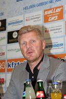 Pressekonferenz in Paderborn am 14.10.2015 des SC Paderborn mit der Vorstellung von Stefan Effenberg als Trainer