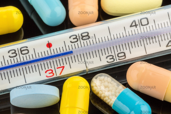 Fever thermometers and tablets