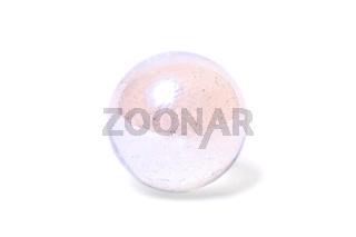 Small glass pearly ball