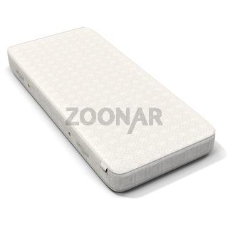 3d detailed white mattress