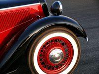 red Oldtimer