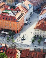 Ljubljana historic center, Slovenia