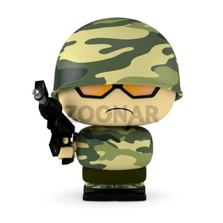 Mini soldier