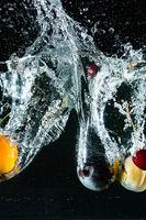 Splash fruit