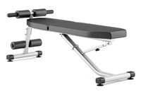 adjustable gym bench isolated on white background