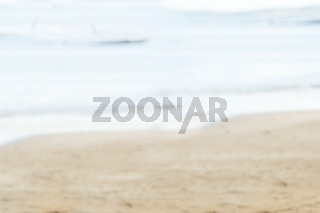 Water edge at the beach