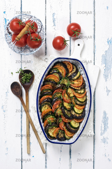 Ratatouille in Casserolle