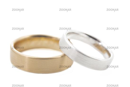 Two wedding rings, optional