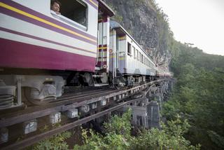 THAILAND KANCHANABURI DEATH RAILWAY RIVER KWAI