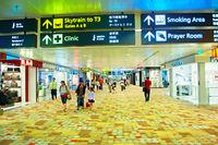 Changi International Airport hall