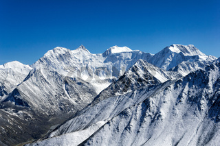 Belukha - highest peak of Altai mountains, Russia
