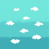 Sky pixel art