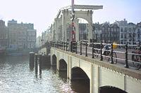 Famous Skinny Bridge, Amsterdam