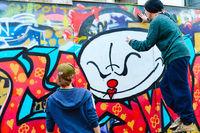Street Lisbon graffiti