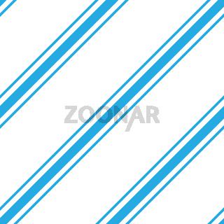 Seamless simple wallpaper. The diagonal blue stripes on a white background