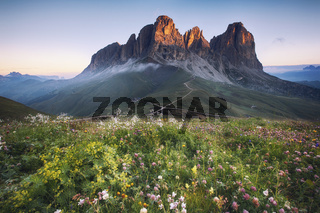 Dolomites mountain peaks