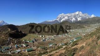 Sherpa village Khumjung, Everest National Park