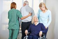 Betreuung von Senioren im Pflegeheim