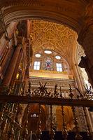 Great Mosque Mezquita interior in Cordoba Spain