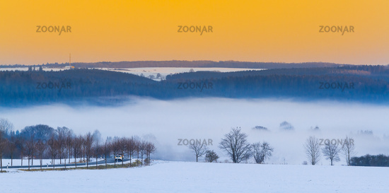 View to Siptenfelde in the Harz Mountains