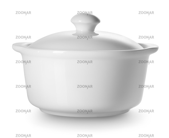 Small ceramic tureen
