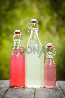 The berry lemonade
