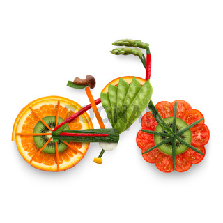 Fruity e-bike.