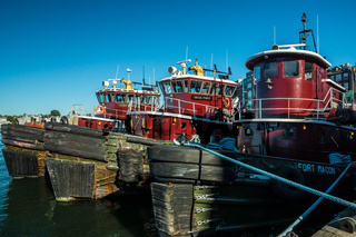Portsmouth Harbor Tugboats