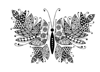 Colorful butterfly for your design