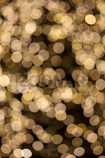 Natural bokeh. Photo of holidays lights