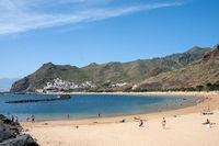 Beach at San Andrés on the Canary island of Tenerife