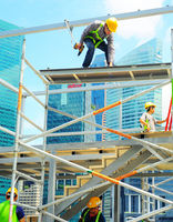 Construction workers, Singapore