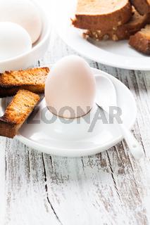 The soft-boiled egg