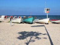 Baltic Sea Beach Scene