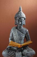 Buddha with book