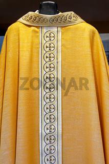 Catholic golden dress
