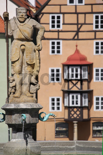 Brunnen in Cheb (Eger)