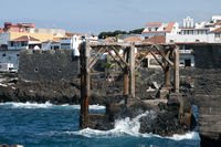old shipyard in Garachico on the Canary island of Tenerife