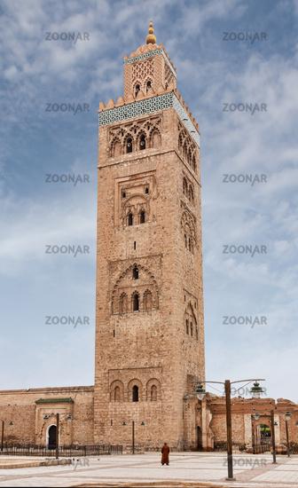 Koutoubia Minaret in Marrakech