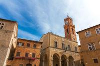 church of pienza tuscany italy