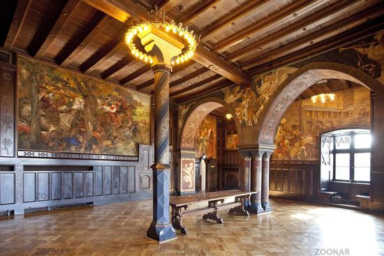 Kemenate, Burg Castle, Solingen, Bergisches Land, North-Rhine-Westphalia, Germany