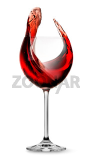 Elegant red wine